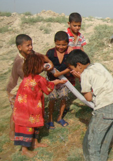 Fresh Water For Local Villages In Iraq