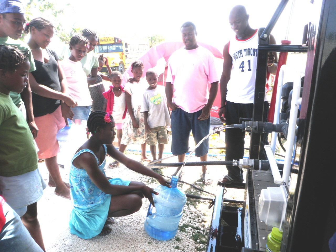 Bon Repos gets Clean Water