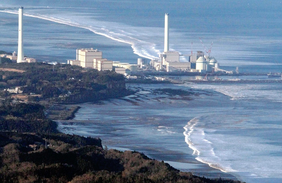 Fukushima Nuclear Power Plant - Japan