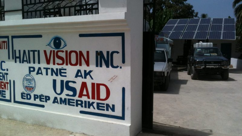 Disaster Response with USAID in Haiti