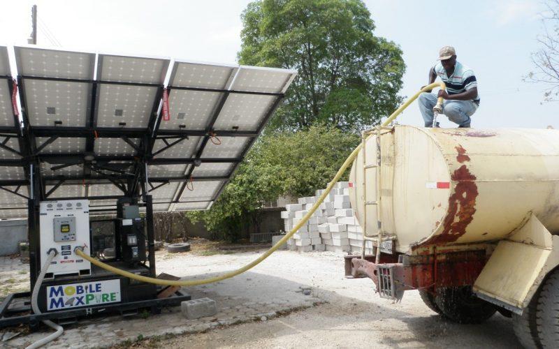 Filling Tanker - Port au Prince Email