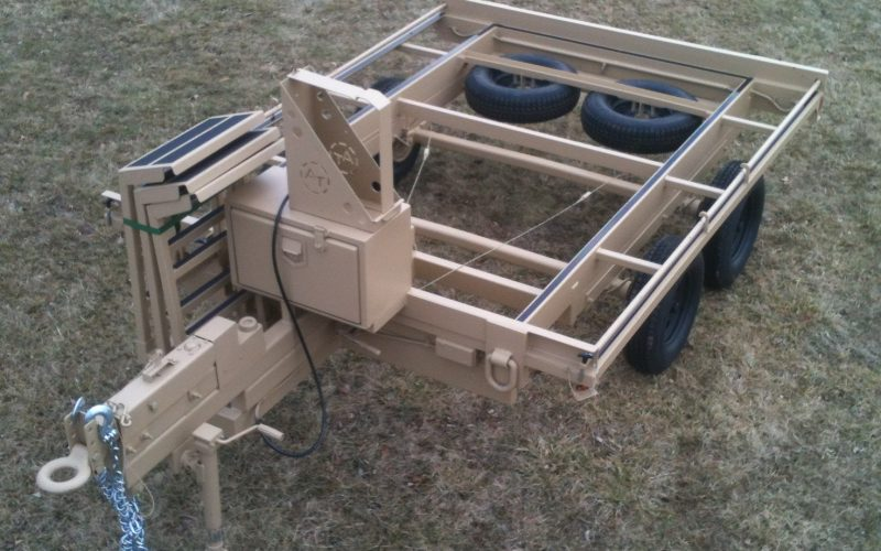 Trailer Without 463L Pallet
